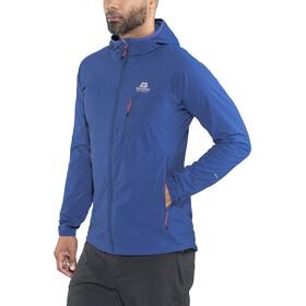 Mountain Equipment M's Echo Hooded Jacket Sodalite Blue